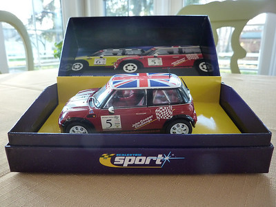 AVAILABLE NOW FOR JUST $50.00! Perhaps the BEST mini made...the #5 John Cooper Challenge Limited Edition. Another collector car with wonderful detail and quality.  Gently used. AVAILABLE NOW FOR JUST $50.00!