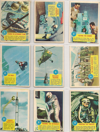 SPACE TRADING CARDS