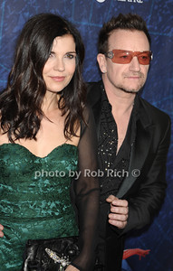 Ali Hewson, Bono photo by Rob Rich © 2011 robwayne1@aol.com 516-676-3939