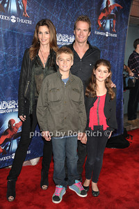 Presley Gerber, Kaya Gerber, Cindy Crawford, Randy Gerber photo by Rob Rich © 2011 robwayne1@aol.com 516-676-3939