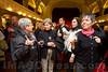 Mäntig Apéro vom 10.02.14 im Saal des Hotels National in Bern mit Pedro Lenz und anderen Gästen.