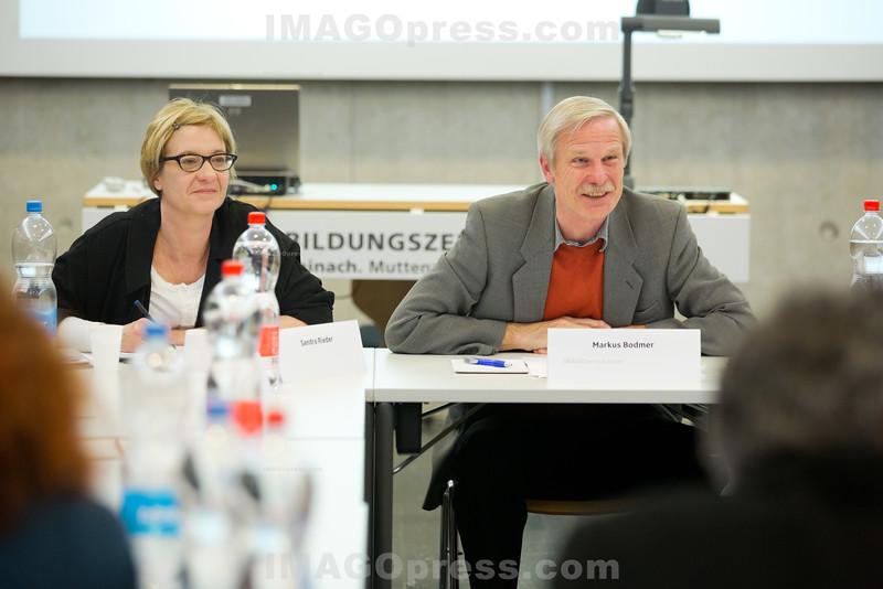 Offene Programmbeobachtung mit SchülerInnen der WMS Reinach - Projekt der offenen Programmbeobachtung der SRG Region Basel © Patrick Lüthy/IMAGOpress.com