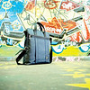 Riley blue bag-graffiti