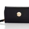 Knomo Leather Purse - iPhone 4S - Black -03