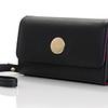Knomo Leather Purse - iPhone 4S - Black -01
