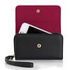 Knomo Leather Purse - iPhone 4S - Black -02