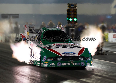 John Force, Riley Auto Parts Nationals, Charlotte, NC