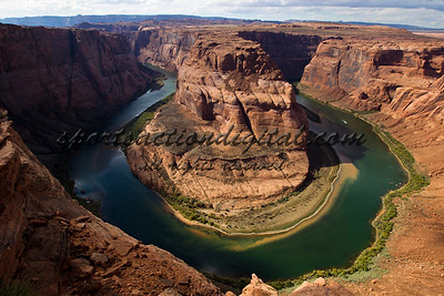 Horseshoe bend, the Colorado River, Arizona