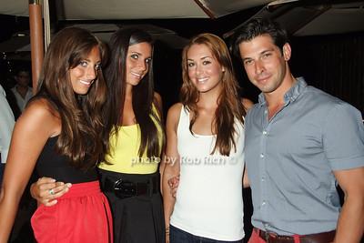 Nicole Perna, Kirsten Laverty, Alexis Interdonato, Nick Romito photo by Rob Rich © 2008 516-676-3939 robwayne1@aol.com