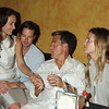 Olivia Chantecaille, Ren Grady, Brooke Taube, Ferebee Bishop Taube<br /> photo by Rob Rich © 2008 516-676-3939 robwayne1@aol.com