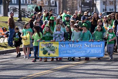 ST Mary School Saint Patrick's Day Parade 2016