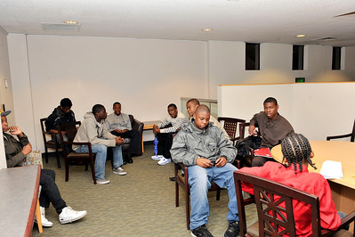 STEVE HARVEY'S FOUNDATION PRESENTS THE FIRAT STVEV HAVEY MENTORING WEEKEND AT THE USC EMBASSY ROOM] OF FEBRUARY 18, 2011. Valerie Goodloe