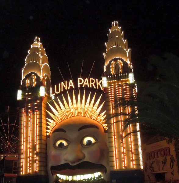Luna Park at Milsons Point.