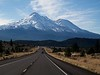Driving towards Mt. Shasta on my way to SF.