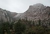 As we arrived at Zion, the snow changed to rain.