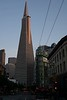 Transamerica Pyramid, an icon in San Francisco's downtown Financial District.
