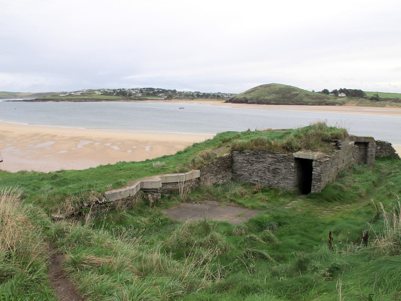 Another wartime relic.   This part of the coast was thought to be a potential invasion site.