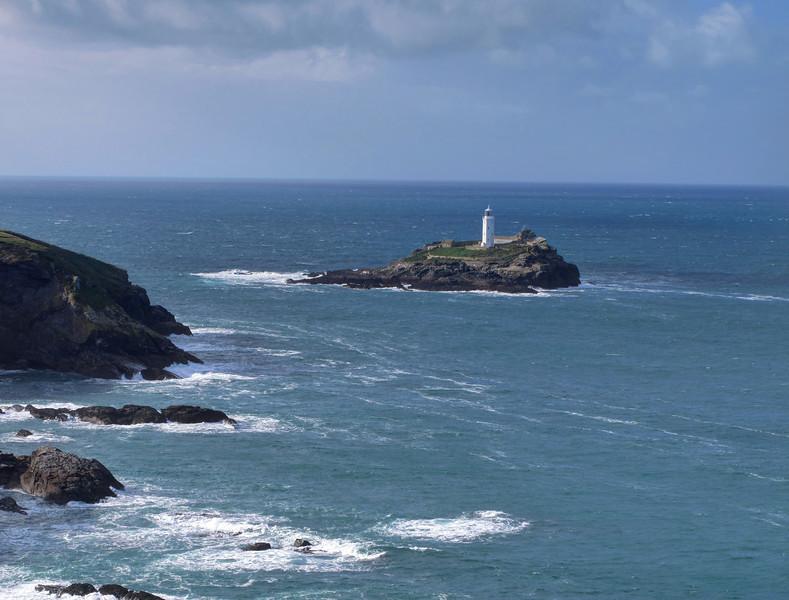The lighthouse on Godrevy Island.