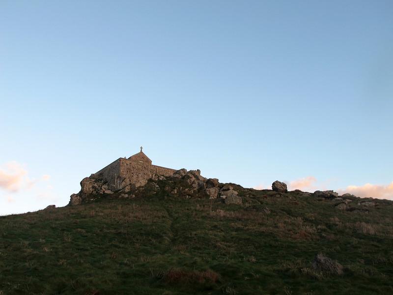 St Nicholas' Chapel, St Ives Head.