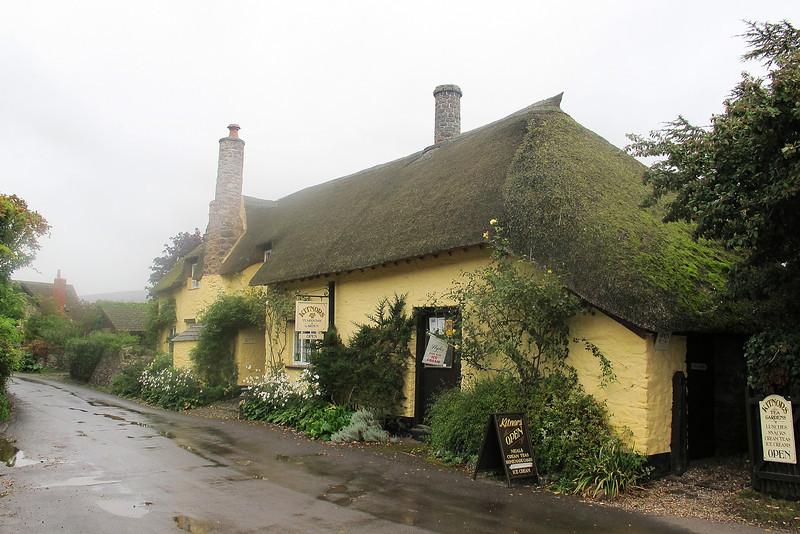 A cottage at Porlock Weir.