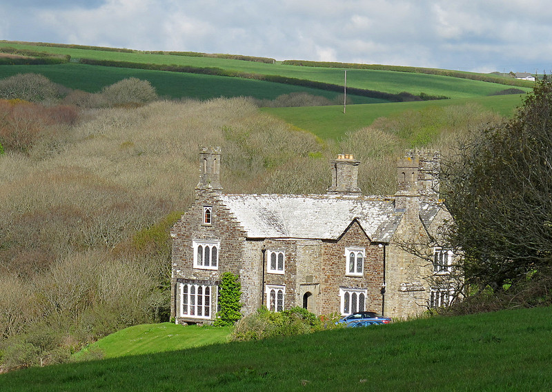 The Rectory, Morwenstow, a splendid B&B which was the overnight stop.