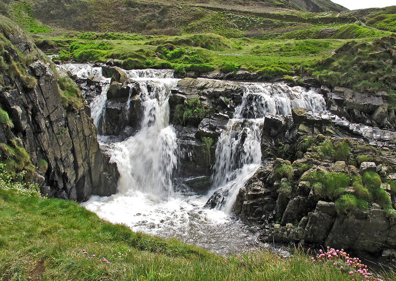 Waterfall at Welcome Mouth.