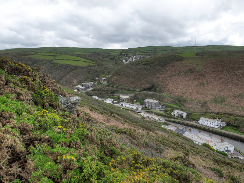 Boscastle, destoyed by floods in 2004 with astonishingly no loss of life, is now restored and back to normal.