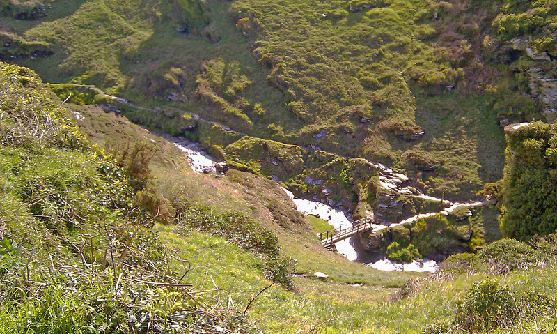 Rocky Valley, a beautiful if remote spot, ideal for a picnic or quiet contemplation.