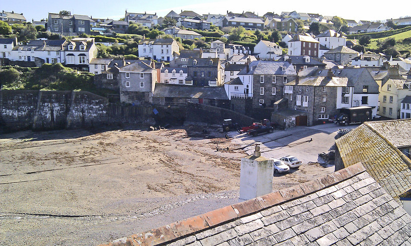 Port Isaac (Port Wen in the TV series Doc Martin).  The TV company is due to shoot another, perhaps final, series during the summer.