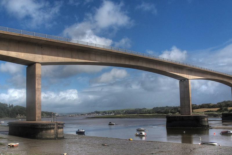 The Torridge Bridge.