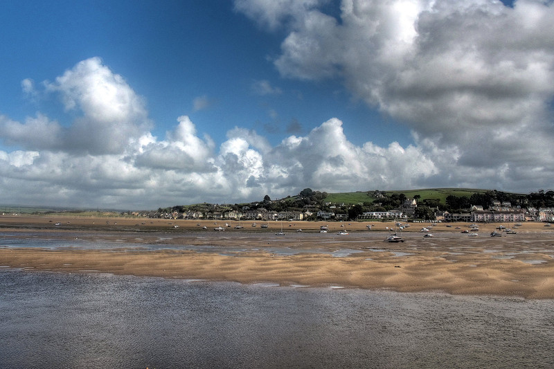 View across the river to Instow