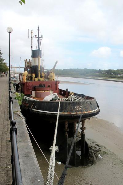 An old London tug at Bideford.