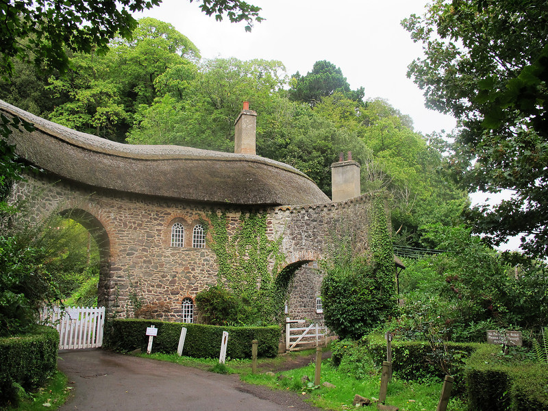 The toll house at Worthy (the toll was £2.00 per car).