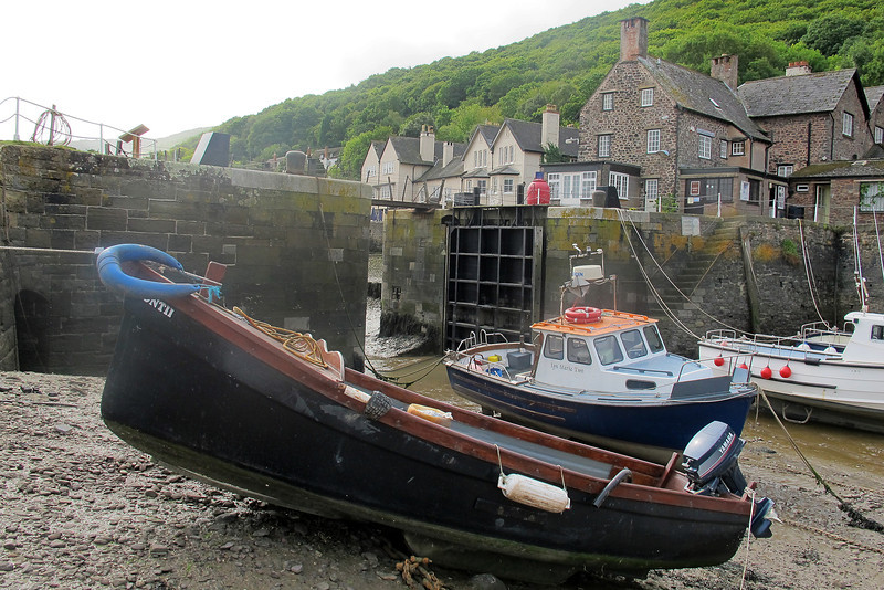 The harbour at Porlock Weir.