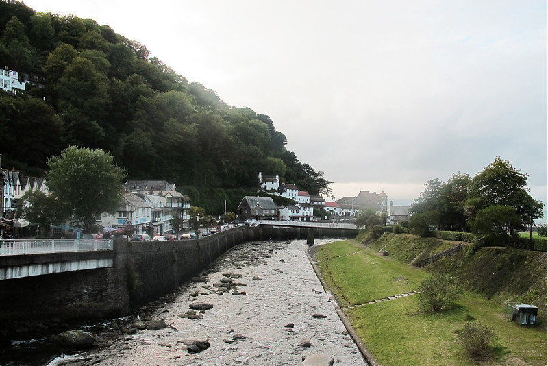 Lynmouth - a pretty fishing village and popular holiday destination.