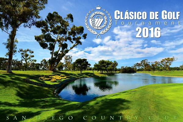 SYHC Clasico de Golf 2016 / San Diego Country Club  - Sept 26, 2016