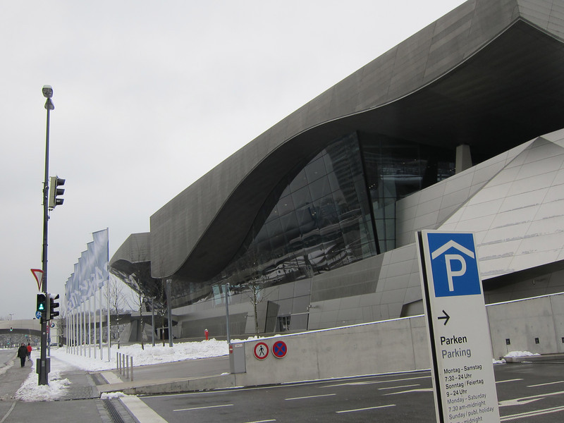 BMW museum and expo.