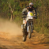 Australian Safari 25/08/2001: 2000 Moto division winner Andrew Caldecott in action on his KTM 660 during the 2001 Australian Safari in the Northern Territory.<br /> Pic By Mark Horsburgh