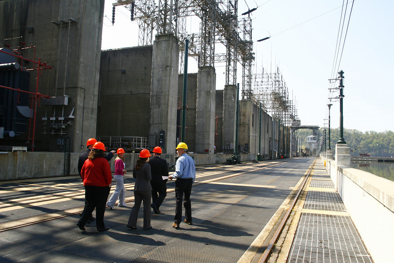 Images from the NEED Board of Directors meeting at the Safe Harbor Hydroelectric Plant in Safe Harbor, PA.