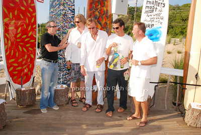 Grey Weinberg, Johnathan Shlater, Andrew Von Morisse, Robert Pagliaroni and Jeff Hock
