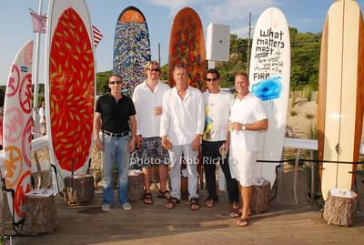 Grey Weinberg, Johnathan Shlater, Andrew Von Morisse, Robert Pagliaroni and Jeff Hock