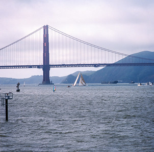 America's Cup practice in SF Bay