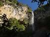 Cascade de Végay falls more than 250'.
