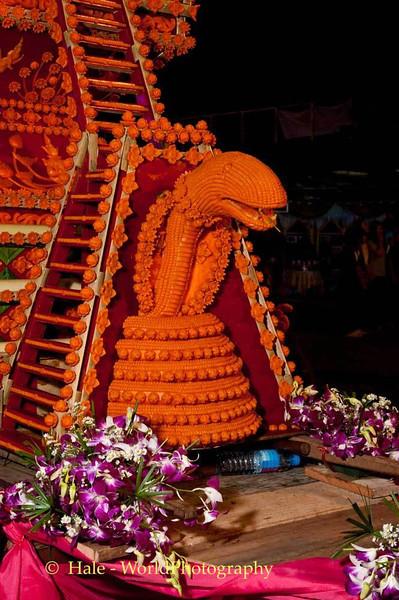 Naga On Decorated Cart