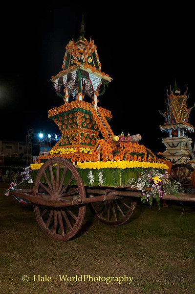 Decorated Carts