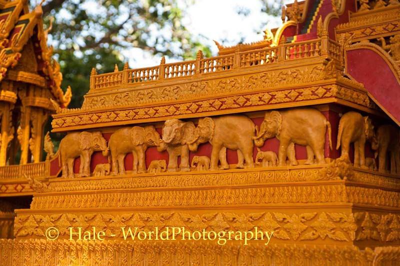 Wax Elephants on Wax Castle
