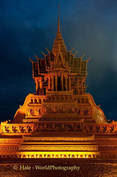 Sakon Nakhon Wax Castle At Night