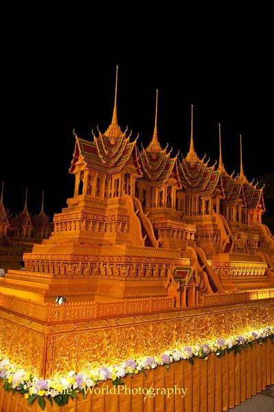 Illuminated Wax Castle