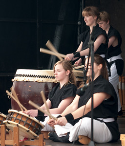 Taiko drum performances
