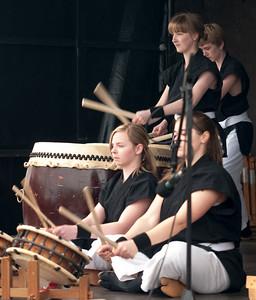 Taiko drum performances